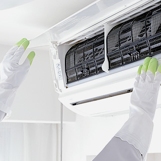 エアコンの分解洗浄、クリーニング