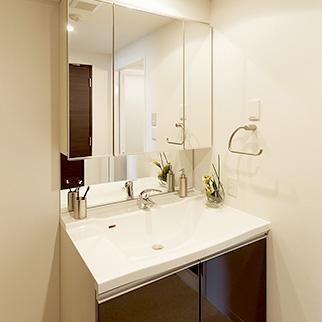 洗面所 クロス貼り替え 天井・壁一式